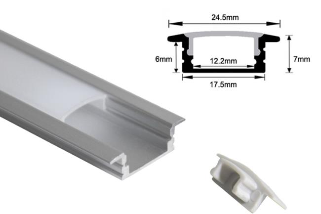 Barra Led sottopensile: 70cm - 7